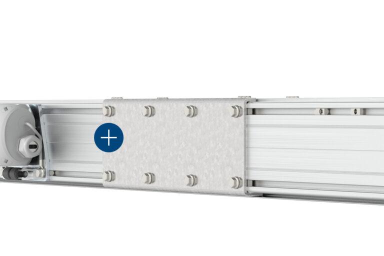 Mechrail™ lättraverssystem med självbärande skarvsats - traverssystem-kransystem-skensystem-travers-Movomech