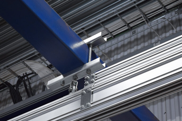 Upphängningar i olika varianter för lättraverssystem Mechrail Movomech