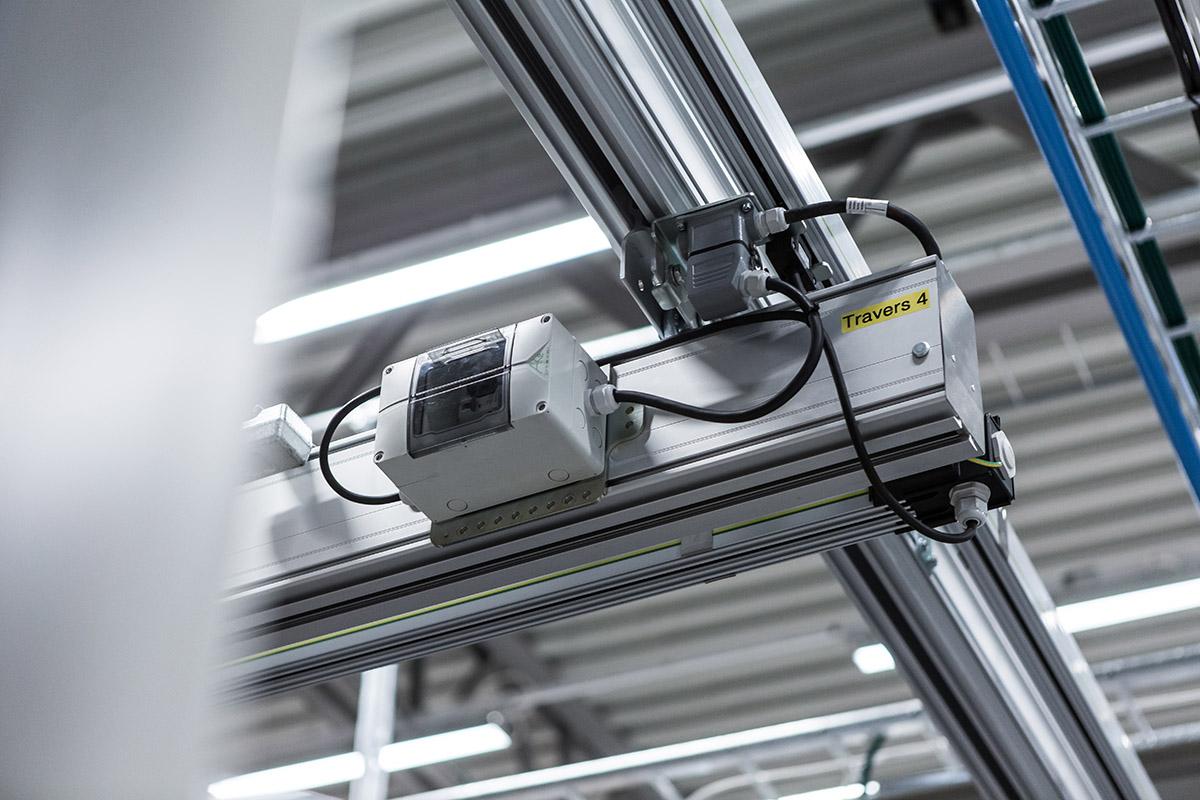 Upphängning för traverssystem Mechrail™ från Movomech