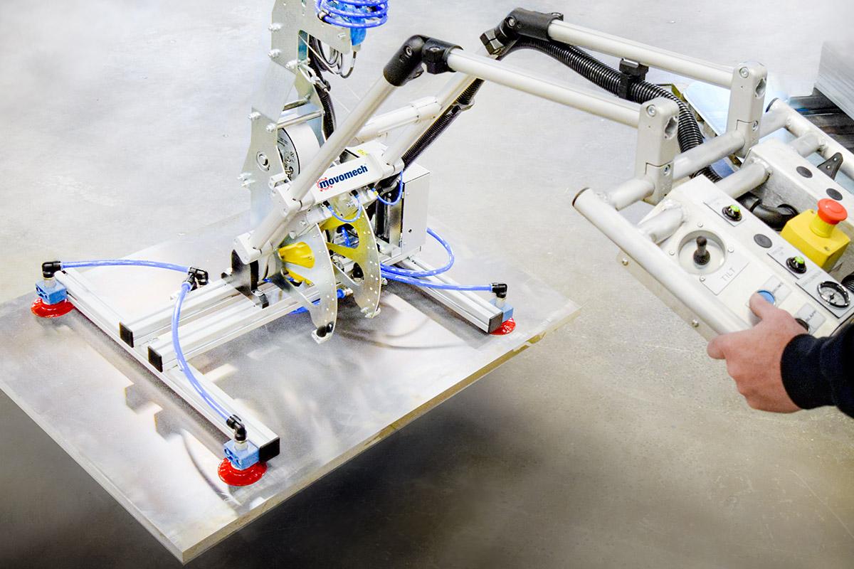 Skivlyft - skivlyftverktyg - skivhantering - Movomech lyftverktyg för lyft av skivor